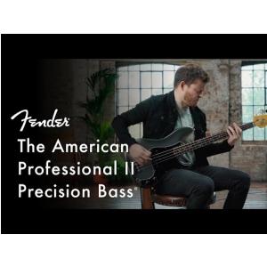 Fender American Professional II Precision Bass, Rosewood Fingerboard, Dark Night