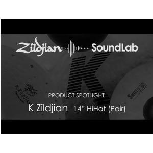 14″ K Zildjian HiHat (Pair) - K0823