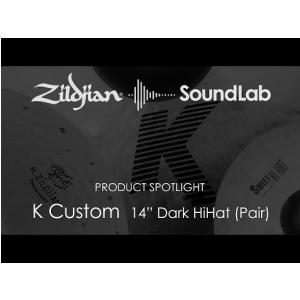 14″ K Custom Dark HiHat (Pair) - K0943