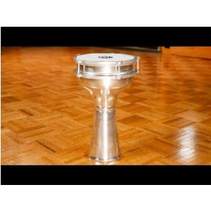 MEINL Percussion - Aluminium Darbuka, Plain - HE-104