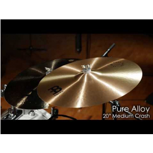 Meinl Cymbals PA20MC Pure Alloy 20″ Medium Crash Cymbal