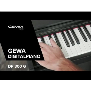 GEWA DIGITAL PIANO DP 300 G (ENG) - Made in Germany