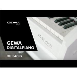 GEWA DIGITAL PIANO DP 340 G (ENG) - Made in Germany