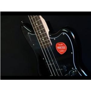 Fender Vintage Modified Jaguar Bass Special SS, Laurel Fingerboard, Black gitara basowa